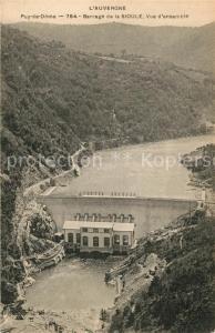 AK / Ansichtskarte Puy de Dome Barrage de la Sioule  Puy de Dome