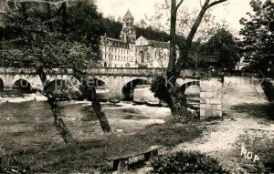 AK / Ansichtskarte Brantome Abbaye Dronne  Brantome