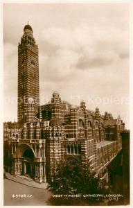 AK / Ansichtskarte London Westminster Cathedral London