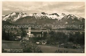 AK / Ansichtskarte Elbach_Miesbach Panorama im Leitzachtal Elbach Miesbach