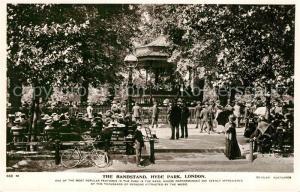 AK / Ansichtskarte London The Bandstand Hyde Park London