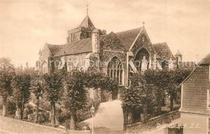 AK / Ansichtskarte Rye_East_Sussex Rye Church Rye_East_Sussex