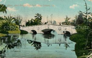 AK / Ansichtskarte New_Orleans_Louisiana Arch Bridge City Park