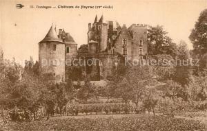 AK / Ansichtskarte Castelnaud la Chapelle Chateau de Fayrac Castelnaud la Chapelle