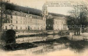 AK / Ansichtskarte Brantome Abbaye Brantome