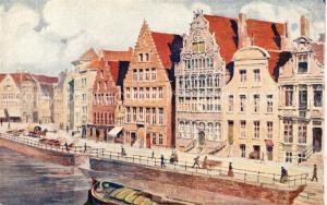 AK / Ansichtskarte Gent_Gand_Flandre De Graslei Gent_Gand_Flandre