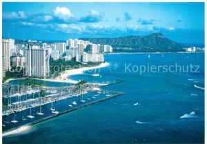 AK / Ansichtskarte Honolulu Fliegeraufnahme