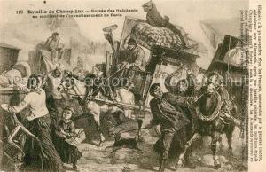 AK / Ansichtskarte Champigny_Yonne Entr?e des Habitents Champigny Yonne
