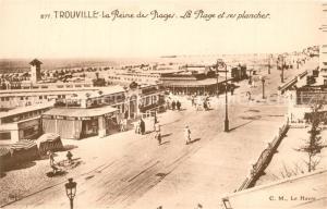 AK / Ansichtskarte Trouville sur Mer La Reine des Plages Trouville sur Mer
