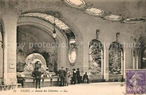 AK / Ansichtskarte Vichy_Allier Source des Celestins Vichy Allier