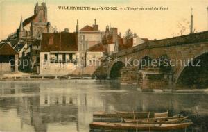AK / Ansichtskarte Villeneuve sur Yonne Pont Villeneuve sur Yonne
