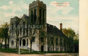 AK / Ansichtskarte Beloit_Wisconsin Presbyterian Church