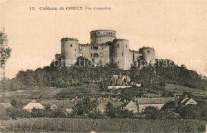 AK / Ansichtskarte Coucy le Chateau Auffrique Le Chateau Coucy le Chateau Auffrique