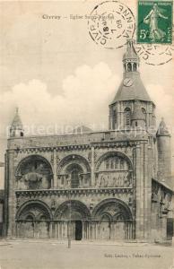 AK / Ansichtskarte Civray_Vienne Eglise Saint Nicolas Civray Vienne