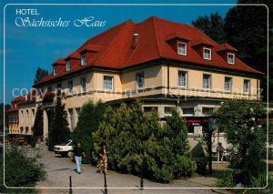 AK / Ansichtskarte Berggiesshuebel Hotel Saechsisches Haus Berggiesshuebel