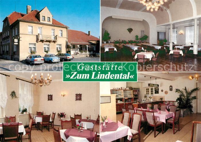 AK / Ansichtskarte Zuschendorf Gaststaette Zum Lindental Saal Gastraeume Zuschendorf 0