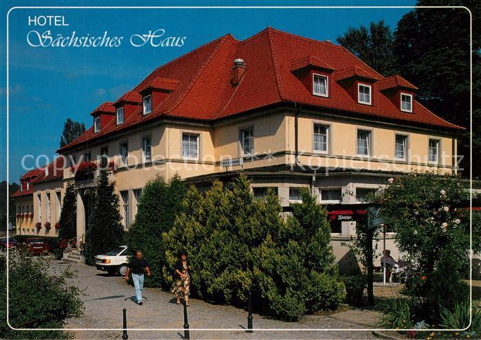 AK / Ansichtskarte Berggiesshuebel Hotel Saechsisches Haus Berggiesshuebel 0