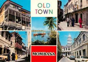 AK / Ansichtskarte Mombasa Scenes of Old Town Mombasa
