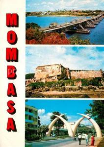 AK / Ansichtskarte Mombasa Scenes from Mombasa Mombasa