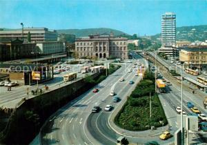 AK / Ansichtskarte Wuppertal Dueppersberg und Bahnhof Wuppertal Elberfeld Wuppertal