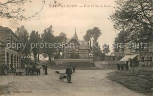 AK / Ansichtskarte Pacy sur Eure Entree de la Gare Pacy sur Eure