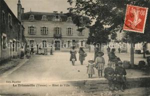 AK / Ansichtskarte La_Trimouille Hotel de Ville La_Trimouille