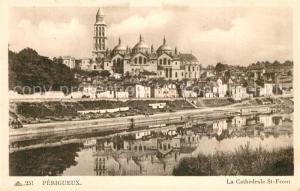 AK / Ansichtskarte Perigueux Cathedrale St Front  Perigueux