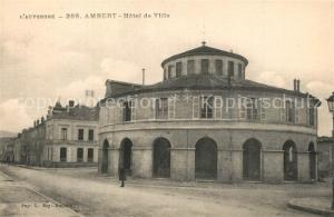 AK / Ansichtskarte Ambert Hotel de Ville Ambert