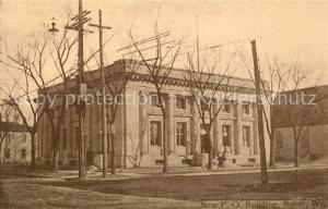 AK / Ansichtskarte Beloit_Wisconsin New Post Office Building