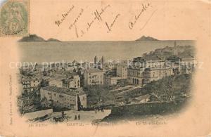 AK / Ansichtskarte Bastia Vue generale Ile Monte Cristo Bastia