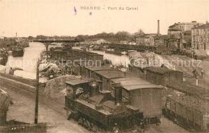 AK / Ansichtskarte Roanne_Loire Port du Canal Roanne Loire