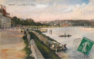 AK / Ansichtskarte Ablon sur Seine Les bords de la Seine Ablon sur Seine