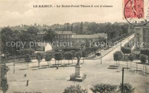 AK / Ansichtskarte Le_Raincy Le Rond Point Thiers a vol d oiseau Le_Raincy