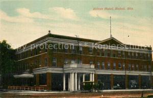 AK / Ansichtskarte Beloit_Wisconsin Hilton Hotel