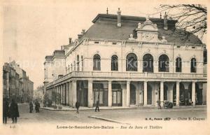 AK / Ansichtskarte Lons le Saunier_Jura Rue du Jura et Theatre Lons le Saunier_Jura