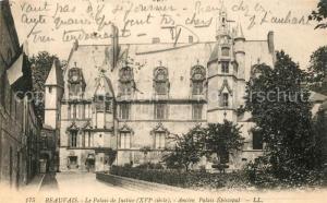 AK / Ansichtskarte Beauvais Palais de Justice Palais Episcopal Beauvais