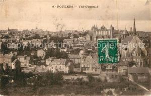 AK / Ansichtskarte Poitiers_Vienne Vue generale Poitiers Vienne
