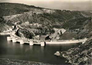 AK / Ansichtskarte Chambles Barrage de Grangent Usine et sa Cite le Canal du Forez Chambles