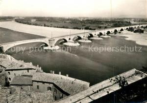 AK / Ansichtskarte Pont Saint Esprit Le Pont Pont Saint Esprit