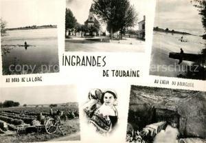 AK / Ansichtskarte Ingrandes de Touraine Au bord de la Loire Au Coeur du Bougueil Ingrandes de Touraine