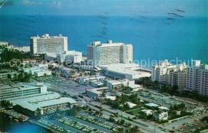 AK / Ansichtskarte Miami_Beach Hotels Deauville and Carillion aerial view
