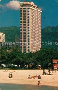 AK / Ansichtskarte Honolulu Ala Moana Hotel Beach