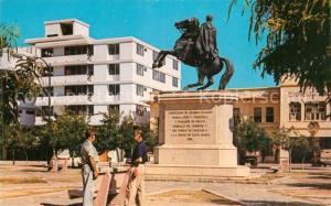 AK / Ansichtskarte Santa_Marta Monumento a Simon Bolivar Reiterstandbild Denkmal Santa Marta