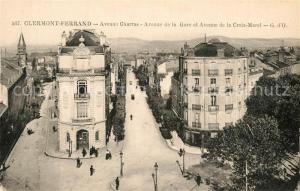 AK / Ansichtskarte Clermont_Ferrand_Puy_de_Dome Avenue Charras Avenue de la Gare et Avenue de la Croix Morel Clermont_Ferrand