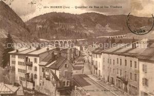 AK / Ansichtskarte Morez Quartier du Bas et les Viaducs Morez