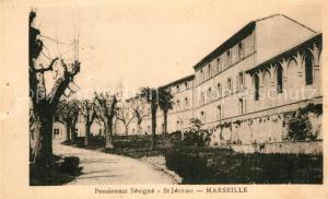 AK / Ansichtskarte Marseille_Bouches du Rhone Pensionnat Sevigne St Jerome Marseille