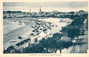AK / Ansichtskarte Royan_Charente Maritime Grande Conche Ville Royan Charente Maritime
