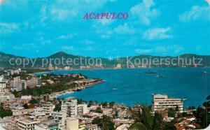 AK / Ansichtskarte Acapulco Vista panoramica de la Bahia de Acapulco Acapulco