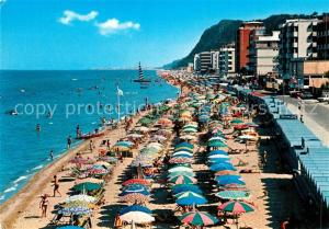 AK / Ansichtskarte Pesaro Spiaggia Lungomare Strand Promenade Pesaro