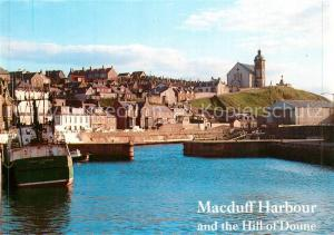 AK / Ansichtskarte Macduff Harbour and Hill of Doune Macduff